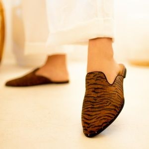 Shoes - Moving Sale! Rust Tiger Mules
